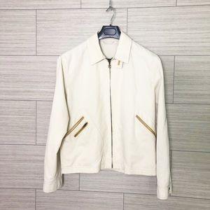 Salvatore Ferragamo Jacket with Leather Inserts